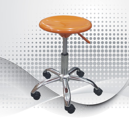 Chrome Plated Stool